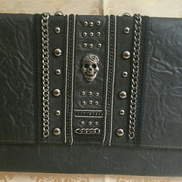 torrid Handbags - Large skull clutch, NWOT by Torrid